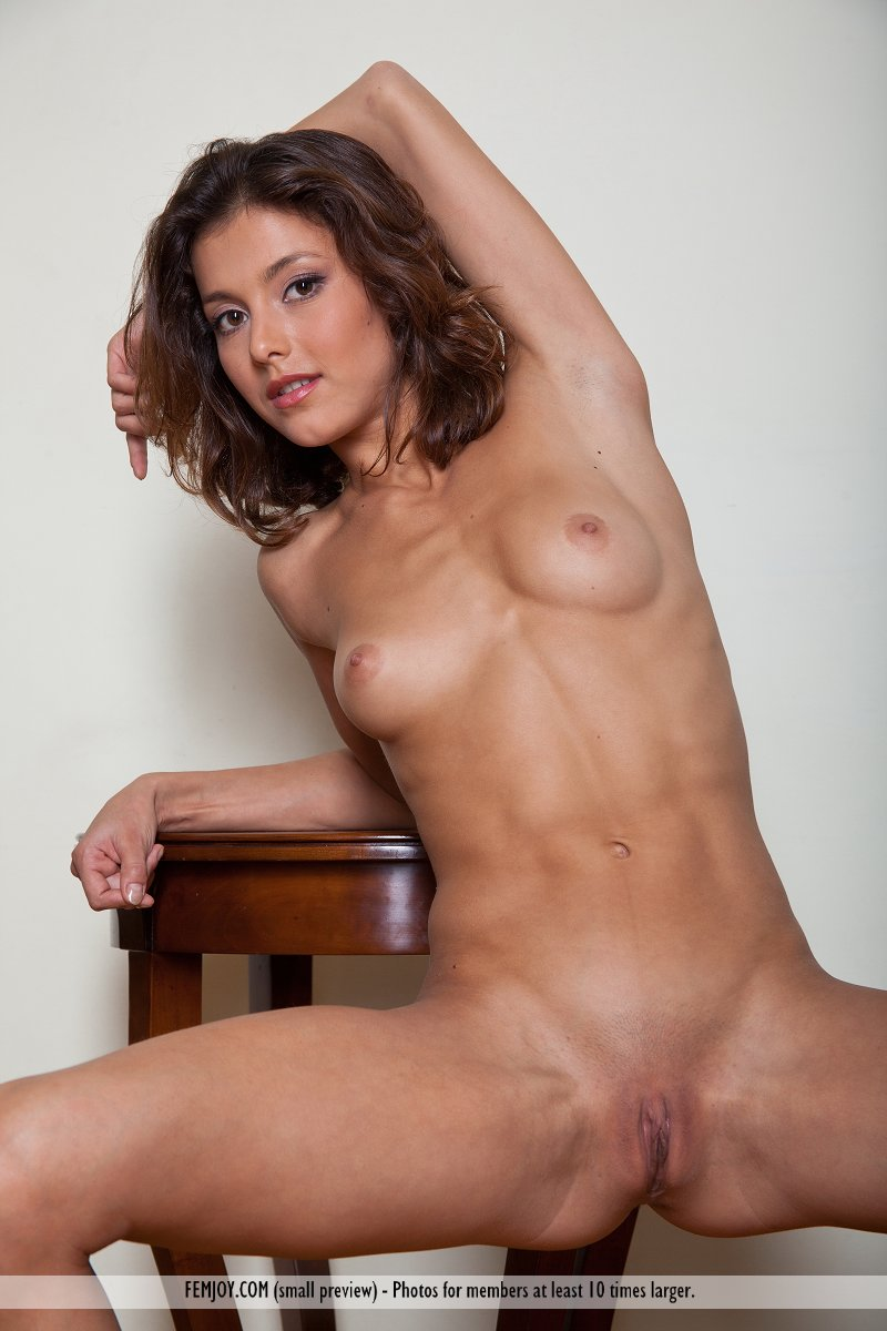 Mature nude woman athlete brilliant idea