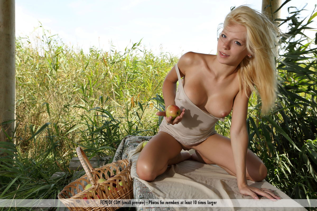 Simply Naked blonde fucked in a field remarkable, very